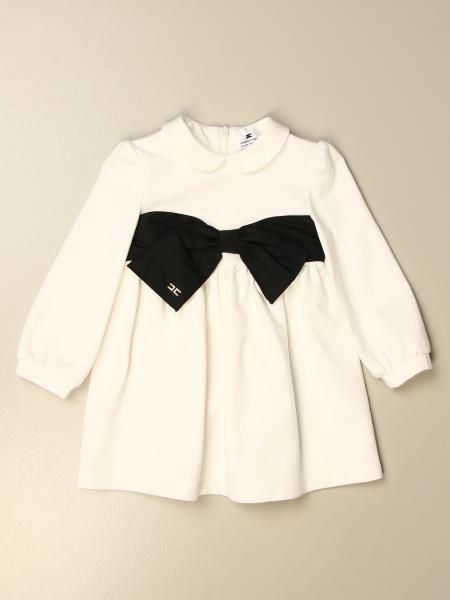 Elisabetta Franchi kids: Elisabetta Franchi short dress with bow