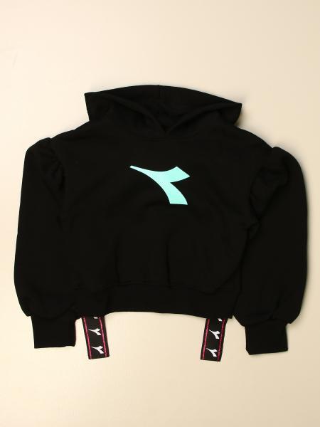 Diadora cropped sweatshirt with logo