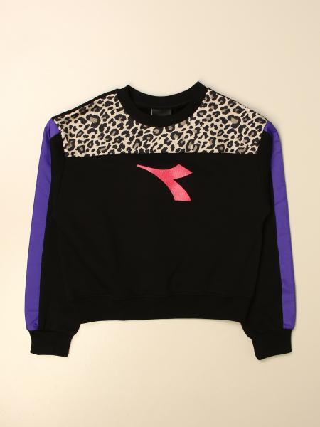 Diadora crewneck sweatshirt with logo
