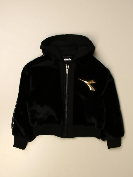 Diadora hooded sweatshirt with logo