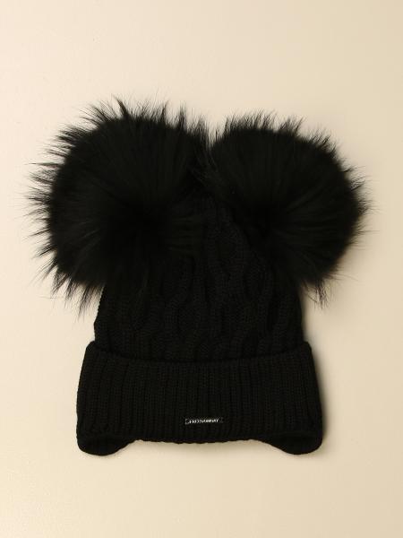 Freedomday beanie hat with maxi pompom