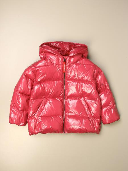 Freedomday down jacket with hood and zip