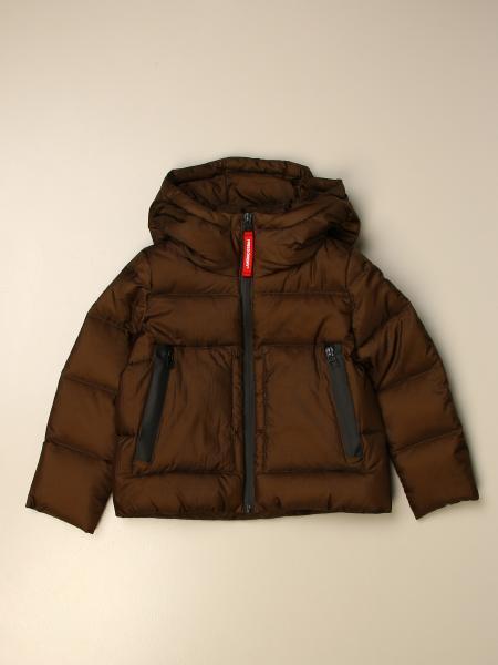 Freedomday down jacket with hood and zip