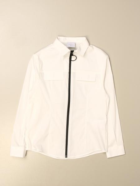 GaËlle Paris shirt with zip and back logo