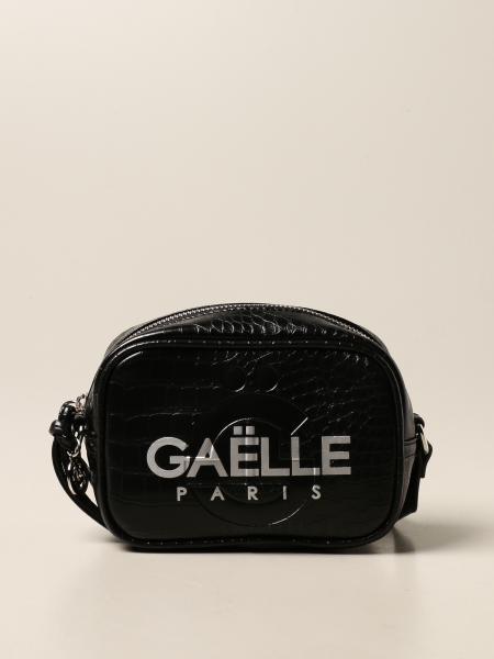 Borsa a tracolla Gaëlle Paris in pelle sintetica con stampa cocco