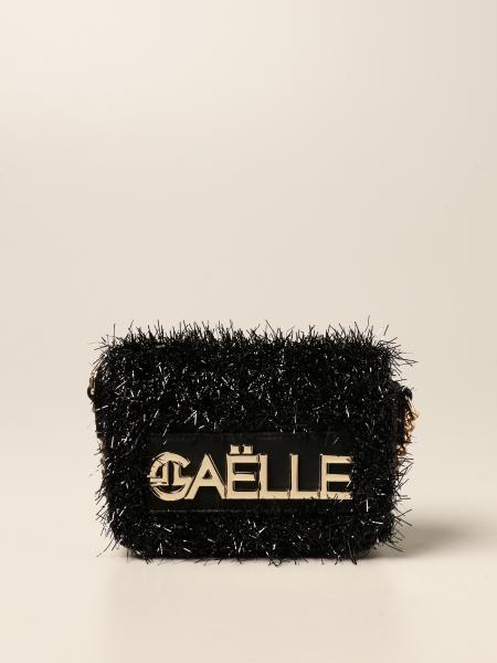 Borsa Gaëlle Paris in pelle sintetica con logo