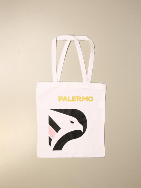 Palermo shopper in cotton with emblem