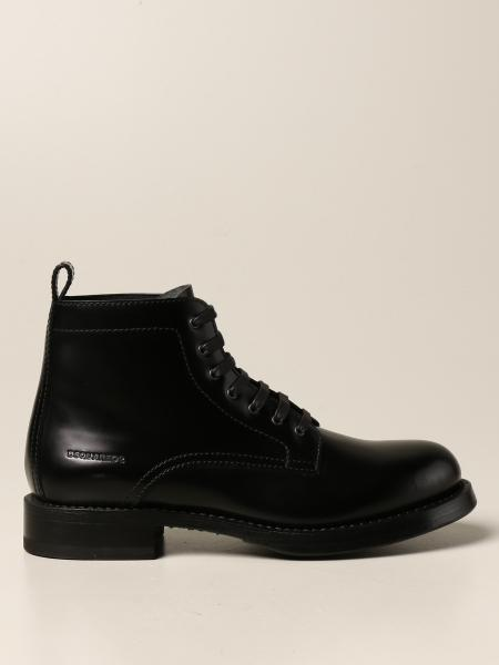 Dsquared2 ankle boot in brushed leather
