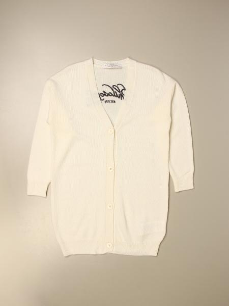 Philosophy Di Lorenzo Serafini v-shaped cardigan with logo