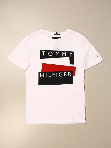T-shirt Tommy Hilfiger in cotone con logo