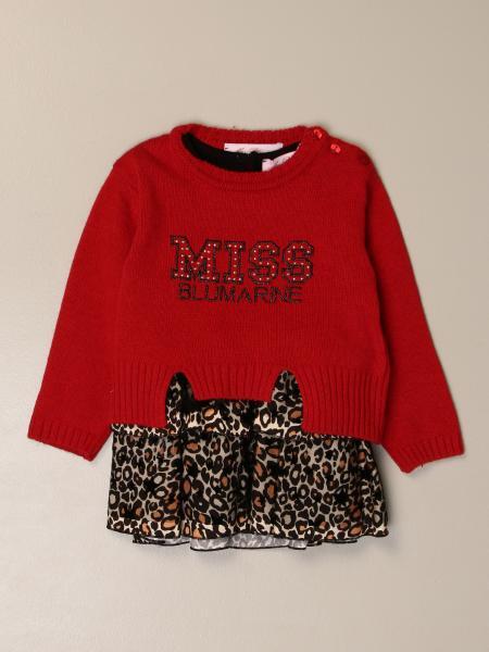 Miss Blumarine: Miss Blumarine dress with pullover