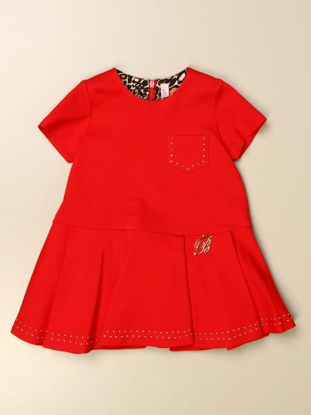 Miss Blumarine: Miss Blumarine dress with mini logo