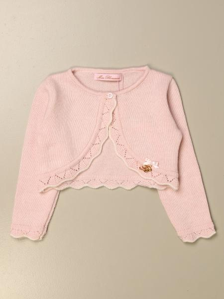 Miss Blumarine short cardigan with embroidered edges