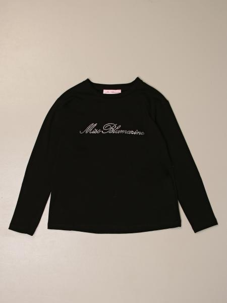 T-shirt Miss Blumarine con logo