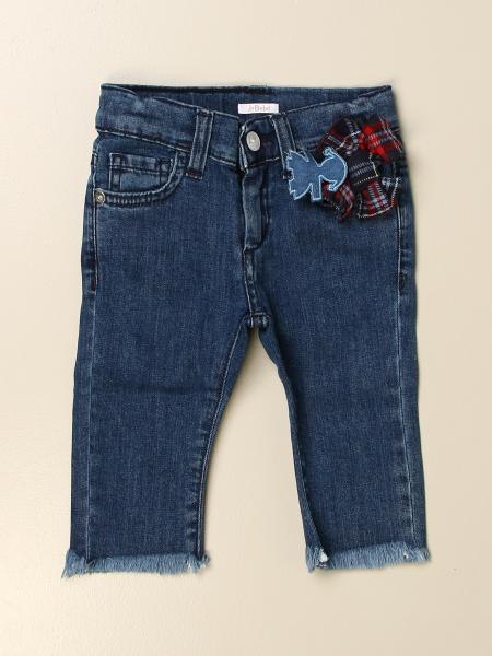 Le Bebé jeans in denim with patch