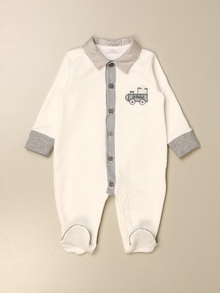 Tutina con piede Le Bebè con logo