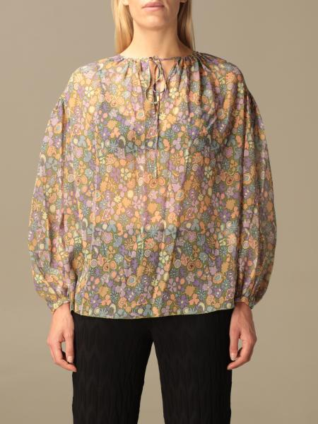 M Missoni floral patterned blouse
