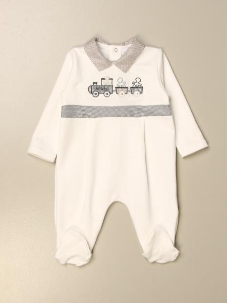 Tutina con piede Le Bebè con trenino
