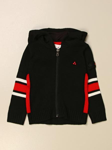 Peuterey kids: Peuterey hooded sweatshirt with striped bands