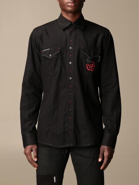 Philipp Plein cotton shirt with logo