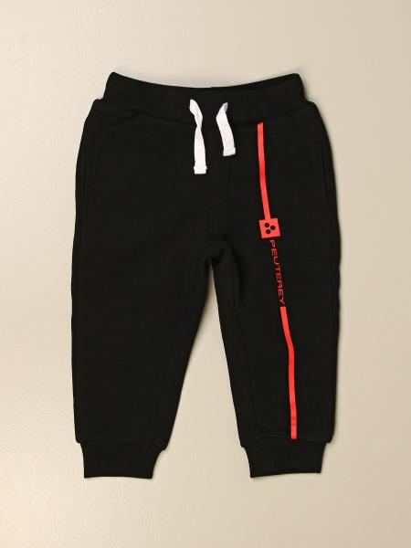 Peuterey kids: Peuterey jogging trousers with contrasting logo