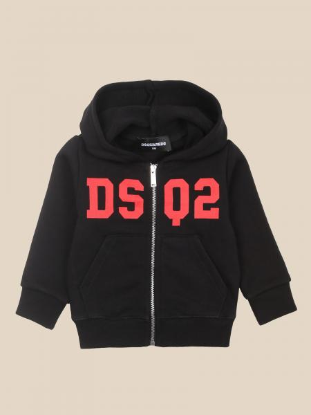 Dsquared2 Junior sweatshirt with hood and zip