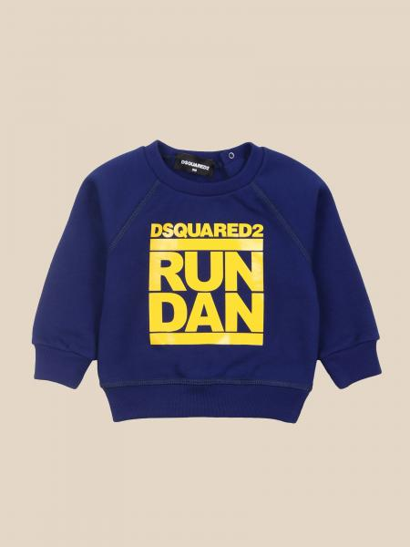 Dsquared2 Junior: Dsquared2 Junior crewneck sweatshirt with logo
