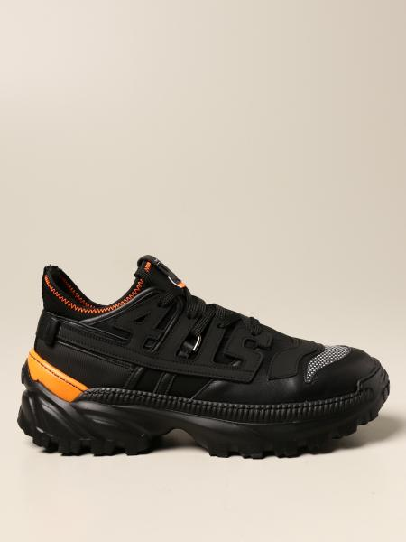 Paciotti 4Us: Paciotti 4US sneakers in leather and technical fabrics