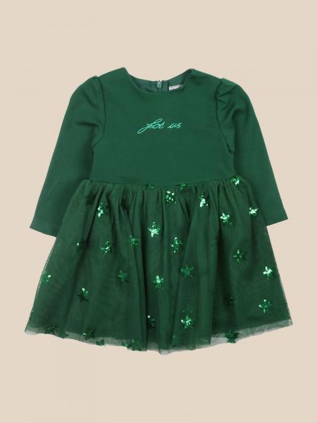 Cesare Paciotti: Paciotti short dress with tulle skirt