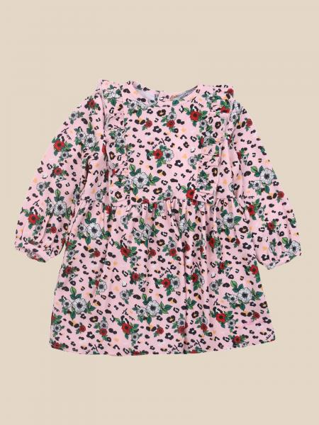 Cesare Paciotti: Paciotti dress with animalier / floral pattern