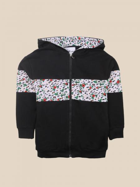 Paciotti sweatshirt with hood and zip