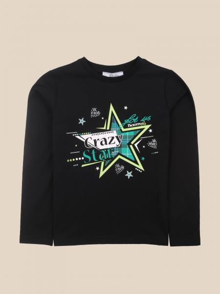 Cesare Paciotti: Paciotti T-shirt with crazy star writing