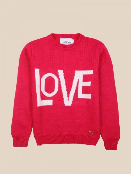 Paciotti crewneck sweater with love writing