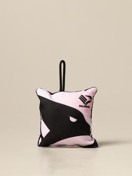 Palermo small cushion with emblem