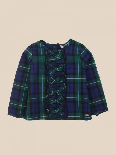 Cesare Paciotti: Paciotti tartan crewneck shirt