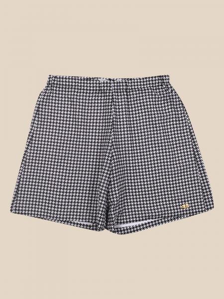 Cesare Paciotti: Paciotti shorts with micro pied de poule