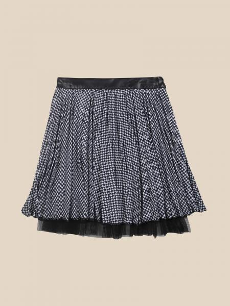 Paciotti short skirt in doubled fabric