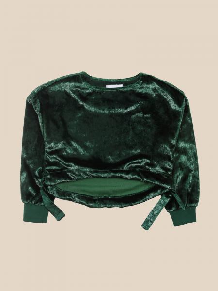Cesare Paciotti: Paciotti cropped velvet sweater