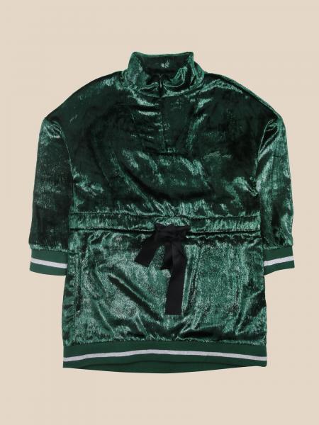 Cesare Paciotti: Paciotti velvet dress with drawstring