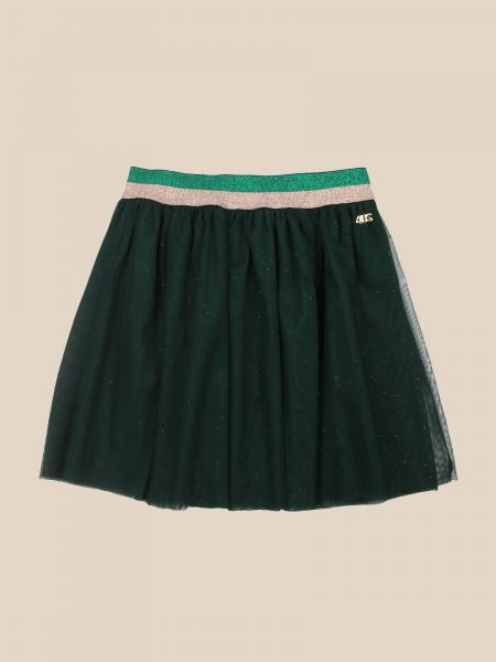 Paciotti skirt in tulle with logo