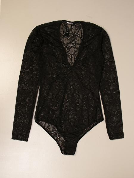 Body dsquared2 body in lace with logo Dsquared2 - Giglio.com