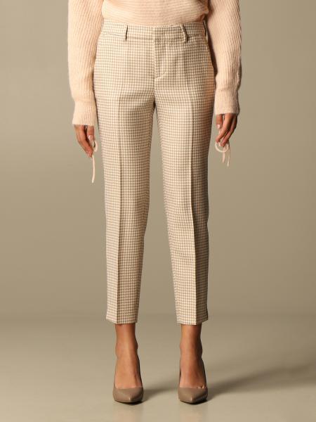 Pantalone classic Pt a micro fantasia