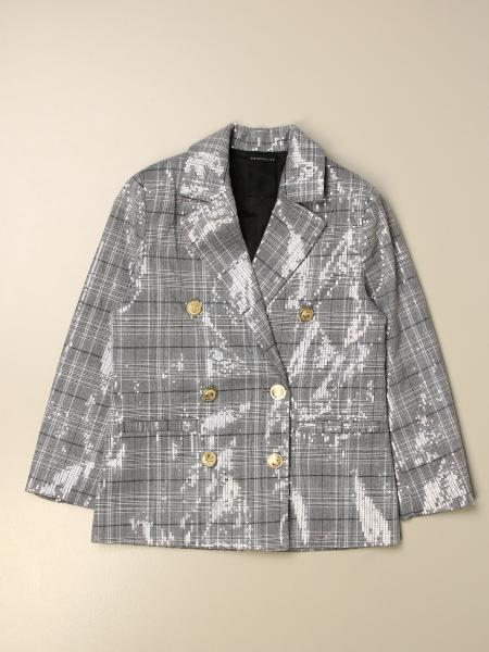 Double-breasted jacket Marc Ellis shiny check