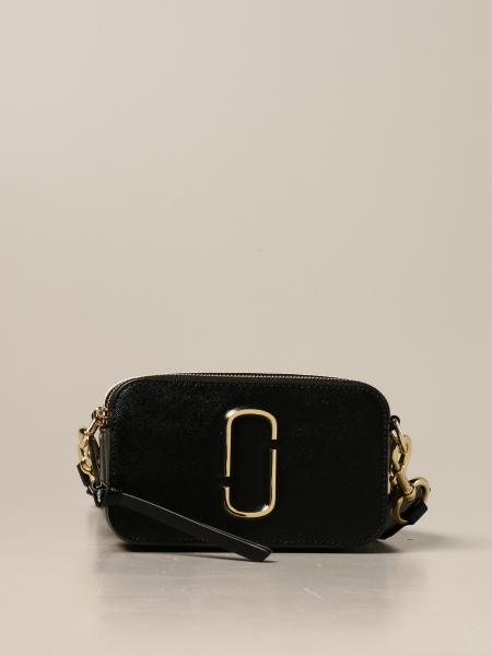 Marc Jacobs: Borsa The Logo Strap Snapshot Marc Jacobs in pelle saffiano