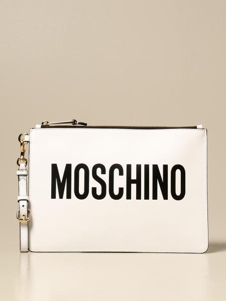 Pochette Moschino Couture in pelle