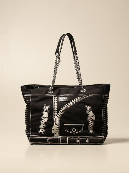 Borsa shopper Moschino Couture in nylon