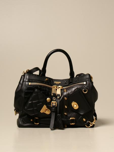 Moschino Couture leather handbag