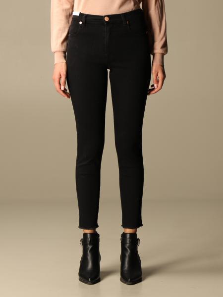 Jeans a vita regolare Pt slim fit