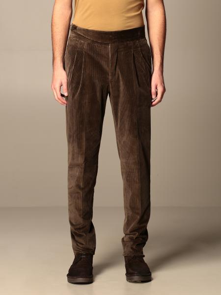 Pantalone a costine Pt con fibbia