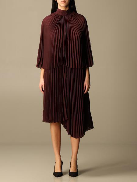 Brognano: Brognano longuette dress with bow